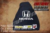 Honda Siyah Renk Ön Penye 3 Sticker
