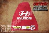 Hyundai Kırmızı Renk Ön Penye 3 Sticker