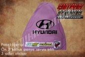 Hyundai Pembe Renk Ön Penye 3 Sticker