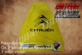 Citroen Sarı Renk Ön Penye 3 Sticker