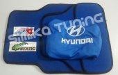 Hyundai Mavi Penye Servis Kılıfı + Mavi Paspas Sticker Hediyeli