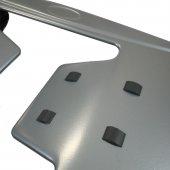 Ayarlanabilir 120x38cm Gövdeli Silikon Destekli Almira Ütü Masası-4