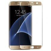 Serhan Samsung Galaxy S7 Edge 3d Kavisleride Kaplayan Renkli Temp