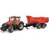 Bruder Oyuncak Case Ih Optum 300 Cvx Traktör Ve Römorku Br03199