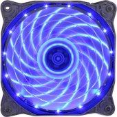 Gamepower GF-12B  12CM 120mm Mavi Blue LED Kasa Fanı Performans Serisi Sessiz Işıklı Fan