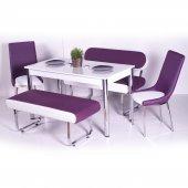 İzmo Bank Takımı Masa Sandalye Takımları Mutfak Masası Yemek Takı-7