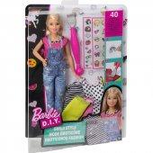 Barbie Emojili Kıyafet Tasarımı Sarışın Bebek...