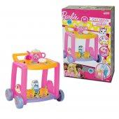 Barbie Oyuncak Çay Servis Arabası