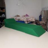 Katlanır Şezlong Minderi Sunbed Benetton Yeşil