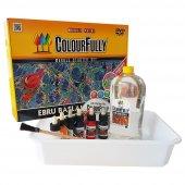 Ebru Başlangıç Seti, 6 Renk Ücretsiz Kargo, Colourfully
