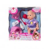 Furkan Toys Cici Baby Hasta Afacan Bebeğim