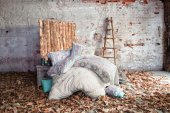 İssimo Home Çift Kişilik Pamuk Ranforce Nevresim Takımı Gazelle