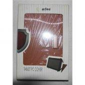 Artes Tpc 20br 7 Tüm Tablet İçin Suni Deri Kahve Kılıf