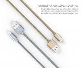 Tsmart Özel Seri Örgülü iPhone Şarj Kablosu-2