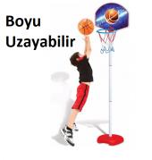 Ayaklı Basketbol Seti Oyuncak Boyu Uzar Dede 03407-2