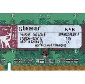 Kingston 512 Mb Pc2 4200 Ddr2 533 533mhz Ram