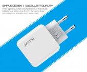 tsmart iPhone Şarj Kablolu 3 USB Seyahat Şarj Seti-5