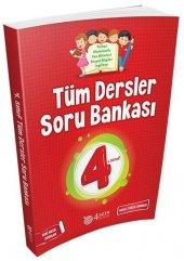 4.sınıf Tüm Dersler Soru Bankası 4 Adım...