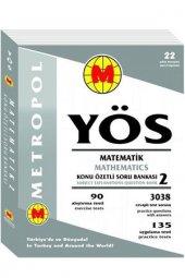 Metropol Yayınları Yös Matematik2 Konu Özetli Soru Bankası