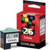 Lexmark 10n0026 Orjinal Renkli Kartuş 26