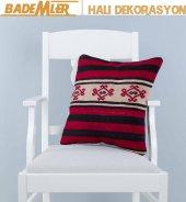Dekoratif Patchwork Yastık %100 El dokuma Yastık-Kilim Yastık