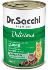 Dr.Sacchi premıum kuzu etli konserve kedi maması