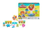 Play-Doh Çılgın Berber oyun hamur seti-2
