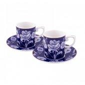 Emsan Empire Blue 6 Lı Kahve Fincan Takımı