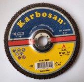 180*22,23 Flap Disk Zımpara Karbosan 40 Kum