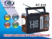 Everton Vt 3093 Müzik Kutusu,3 Band Radyo, Usb, Sd, Mp3 Player