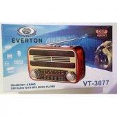 Everton Vt 3077 Müzik Kutusu Mp3 Çalar Fm Radyo