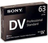 Sony Mini Dv 63 Dk Profosyonel Siyah Kamera...