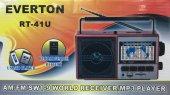 Everton Rt 41u Şarjlı 10 Band Dünya Radyosu,...