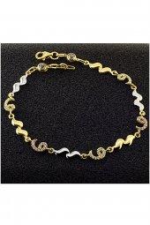 Cigold 14 Ayar Altın Bileklik B000478523