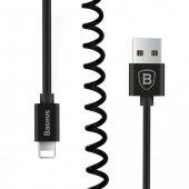 Baseus Elastic Data Lightning İphone Kablo Siyah