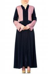 Nadide Abaya Da 2002 10 Lacivert Pembe