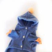 PINEAPPLE BLUE TULUM  by Kemique Köpek Kıyafeti-6