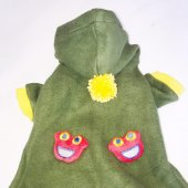 Happy Face Green Kedi Kıyafeti-3