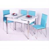Mutfak 6 Sandalye Açılır Kelebek Masa Takımı ...