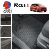 Ford Focus 3 Premium 4d Havuzlu Paspas 2010 2016