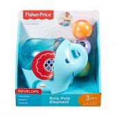 Dyw57 Fp Çıngıraklı Fil Fisher Price