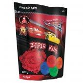 Zkp50051 Cars3 Kalıplı Kırmızı Kinetik Kum Red Castle