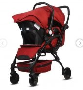 Babyhope Bh 3076 Lavida Plus Travel Sistem Bebek Arabası Kırmızı