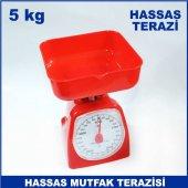5 kg Kapasiteli İbreli Hassas Mutfak Terazisi 40 gr Hassasiyetli