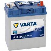 Varta Blue Dynamic A14 12 Volt 40 Amper Akü...