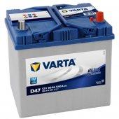 Varta Blue Dynamic D47 12 Volt 60 Amper Akü...
