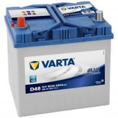 Varta Blue Dynamic D48 12 Volt 60 Amper Akü...
