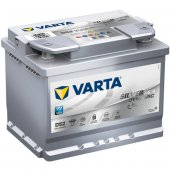 Varta Silver Dynamic Agm D52 12 Volt 60 Amper...