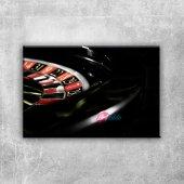 Rulet Masası Fotoğraf Kanvas Tablo