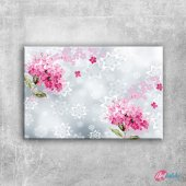 Abstract, Soyut Çiçekler Dijital Fantastik...